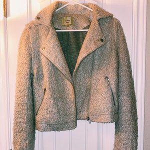 elevenses anthropology wool distressed jacket